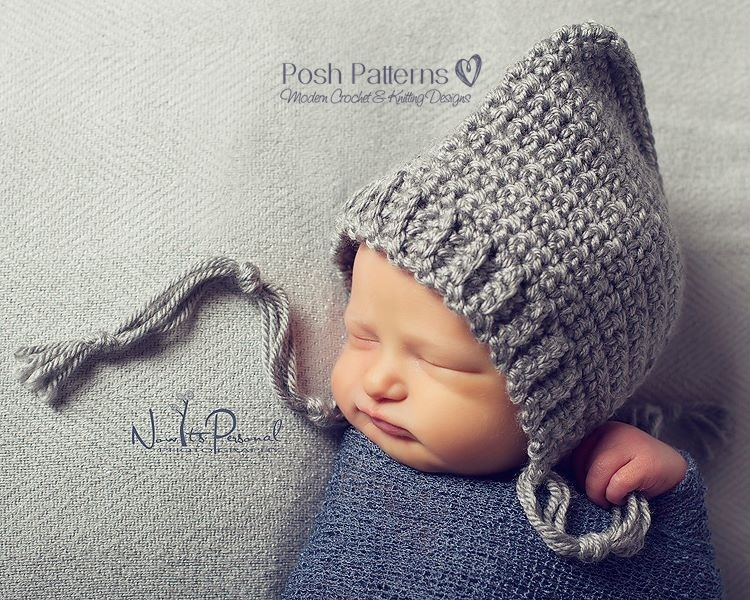 Free Crochet Pattern Baby Pixie Hat